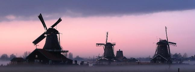 The famous windmills of the Netherlands, you can now enjoy them from the water