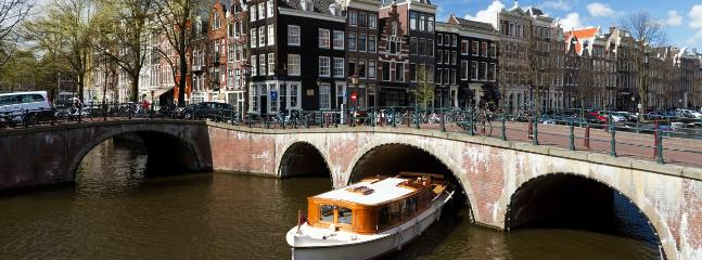 Amsterdam ,  6 Hours by boat from the berth.