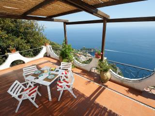 Brezza di Mare with large terace and sea view, Conca dei Marini