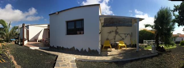 Casa completa desde la entrada