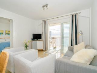 Living room with access to the large terrace.  TV with free view UK channels, DVD, IPod player, WiFi