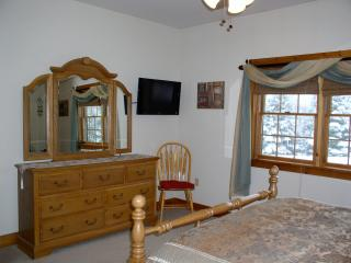 Master Bedroom showing TV