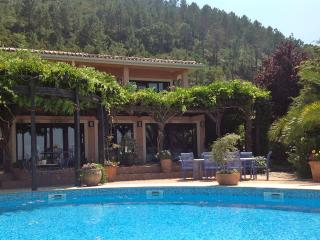 Designer luxury villa, all en-suite, private pool, fabulous views, grand piano, Gois