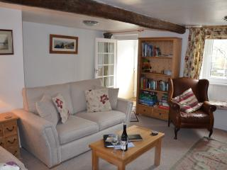 The beautiful sunny lounge at Grisedale Cottage