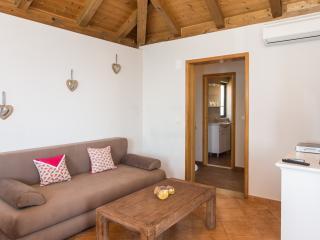 Villa Mirjana - One Bedroom Apartment with Terrace and Sea View (Orange)