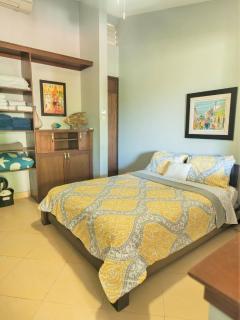 Apt 3 queen size bed