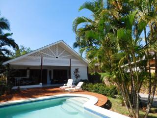 Oasis tropical à 50 m de la plage de Ballenas, Las Terrenas