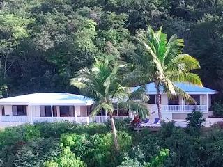 KAYAKS! - POOL! - AND THE BEST BEACH ON TORTOLA! 3 BEDROOM PRIVATE VILLA WITH AC