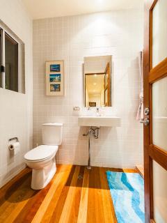 Suite Room bathrooms at Riverbend