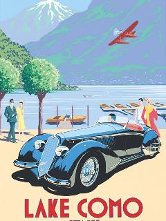 The good old days. The Como Flying Club is the oldest of its kind in Europe, and very active