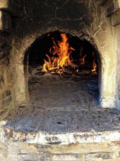 Our traditional pizza oven