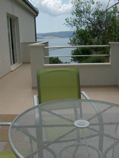 Apartment no.1 terrace