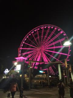 WALK to Skywheel and Boardwalk from condo (~10 blocks south) Attractions, food, arcades!