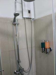 Shower With Soap Dispensers