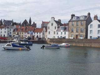 """Harbourside"" in name and in character., St Monans"