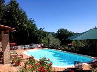 Country villa with swimming pool nearby Rome, Manziana