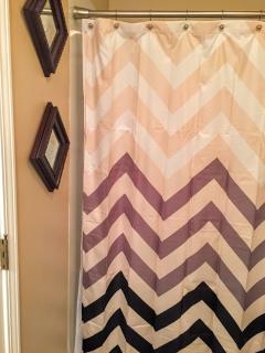 Third bathroom shower.