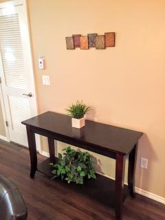 Decorative table.