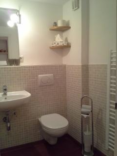 Toilette und Badwärmer