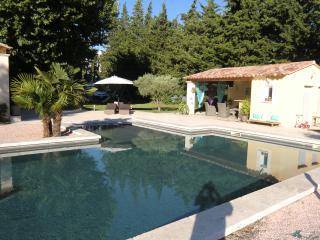 Mas provencal avec piscine et pool house