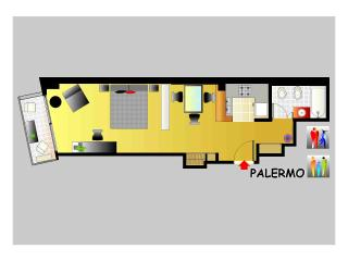 Luxury New Palermo Apt 2-3 Pax