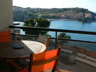 vue sur la baie de Collioure