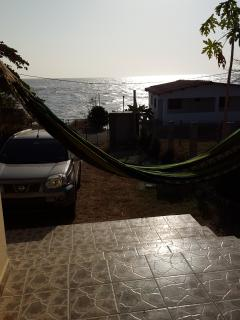 Hang out in the hammock