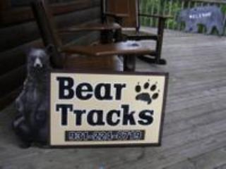 Bear Tracks is a 2 bedroom cabin located in Hidden Springs Resort. 1.5 miles from Dollywood.