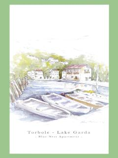 Blue Nest Apartment - Torbole Lake Garda - Old Harbour