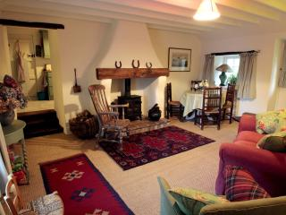 Enjoy relaxing in front of the log burning stove, reading your book or just soak up the tranquility.