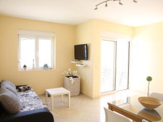 Der Wohnbereich eines Ihrer Apartments in der Villa Punta in Zadar