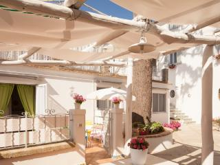 Beautiful courtyard apartment - sleeps 4, Sant'Agata sui Due Golfi