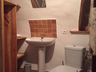 Salle de bain, studio la Vôute