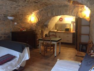 Studio meublé 'La Voûte', intérieur