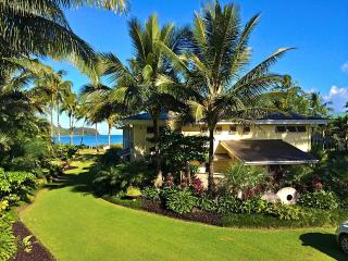 7000 Sq. Ft. Beach Front Estate On Hanalei Bay