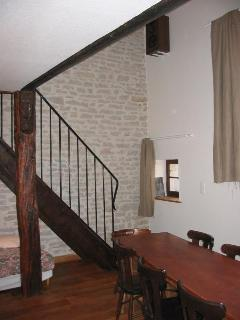 Cuisine - escalier mezzanine