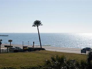 Romantic Gulf View Luxury Resort Condo 3 Pools 318, Galveston