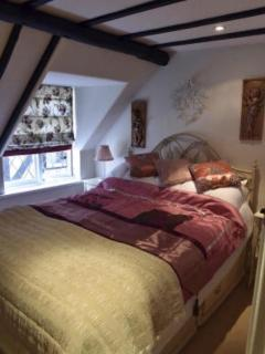 Bedroom two, King size  bed, dressing table