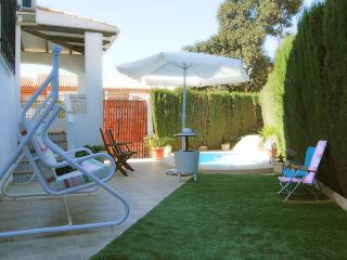 Nice house with swimming pool 250m from the beach., Mazarrón