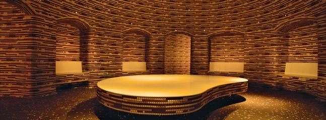 The Hammam a turkish bath located inside the Drift Spa