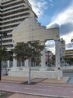 Monumento al paso del tiempo en que los romanos pasaron por aquí.