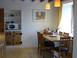 The breakfast area is lovely for informal family meals