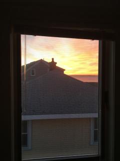 Sunrise from back bedroom