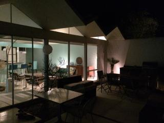 Private midcentury modern condo for four, Palm Springs