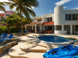 Villa Balam Ek ocean front rental in the Caribbean coast of Mexico Riviera Maya