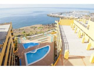 5- Ocean view, Private Solarium, Wifi, Heated pool, Golf del Sur