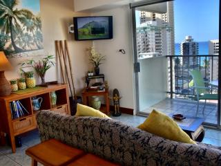 Ocean view Central AC Romantic  Sleep 4, Honolulu