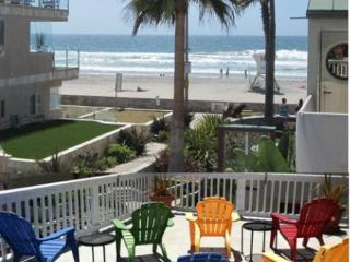 Mission Beach, Ocean View!  Best Location, 1 House From Ocean, Sleeps 10, San Diego