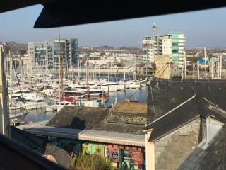 Marina views from the Loft bedroom
