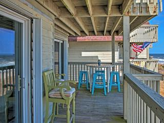 Sunny 2BR Kure Beach Condo w/ Ocean Views, Indoor & Outdoor Pools, and Elevator